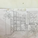 Skizze Planung Individueller Innenausbau bei Möbel Frauendorfer in Amberg