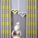 Gardine Gelb Grau Gestreift Gardinen Näherei bei Möbel Frauendorfer in Amberg